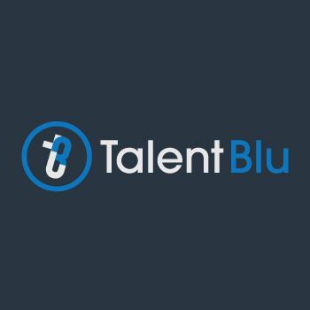 logo Talent Blu
